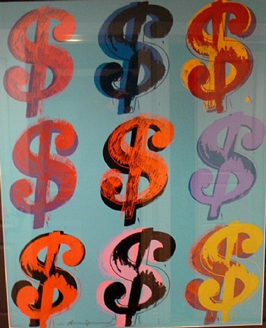 9$ by andy warhol