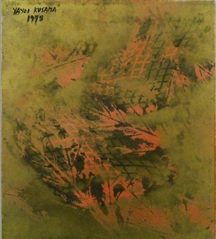 footprints of youth by yayoi kusama