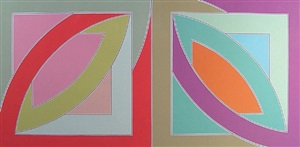 bonne bay - from the newfoundland series (axsom 55) by frank stella