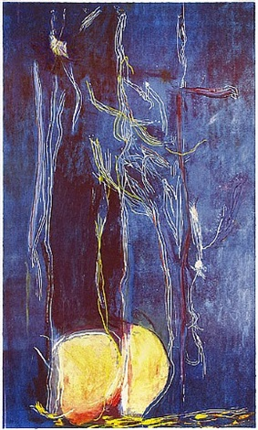 all about blue by helen frankenthaler