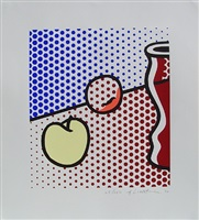 still life with red jar (c.291: g.1621) by roy lichtenstein