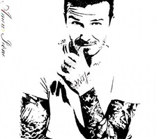 amour icône (love icon) - david beckham by bambi