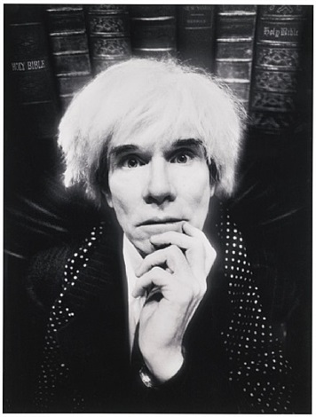 andy warhol: last sitting november 22, 1986 by david lachapelle