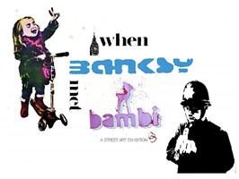 when banksy met bambi