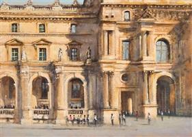 the louvre, paris by clive mccartney
