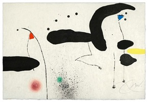 untitled (from le marteau sans maitre) by joan miró