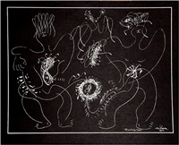revolving seed (myth 1) by irene rice pereira