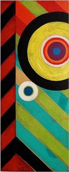 untitled (target) by rolph scarlett
