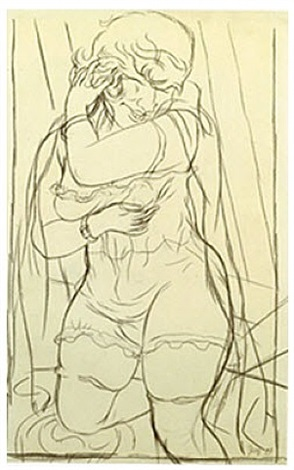 sex appeal<br> lotte schmalhausen by george grosz