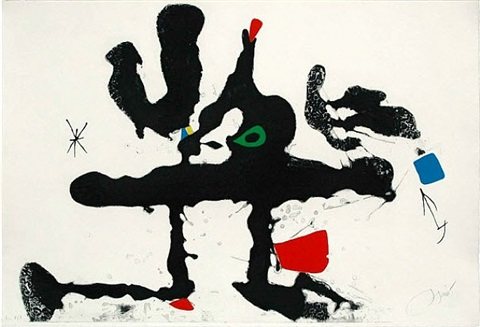 untitled (from barcelona series) by joan miró