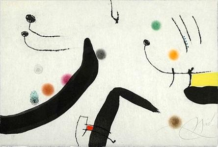 untitled (le marteau sans maitre) by joan miró