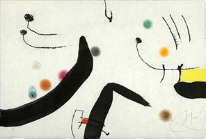 untitled (le marteau sans maitre) by joan miró