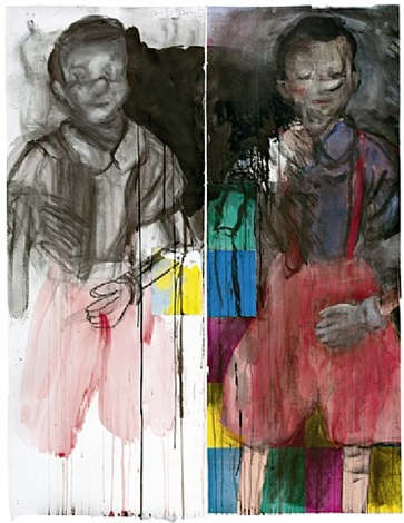 two brothers from collodi by jim dine