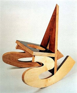 name calling chair by vito acconci
