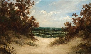path to the sea by edward bannister