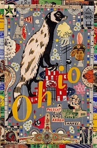 tony fitzpatrick the mysteries of ohio - drawing collages by tony fitzpatrick