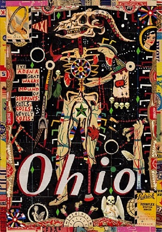 sky at ohio #7 (walking adena ghost) by tony fitzpatrick