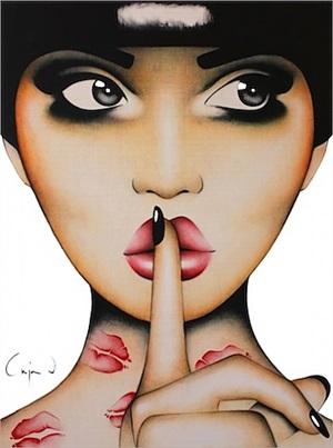 quiet kisses by anja van herle