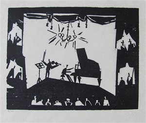 the virtuoso by lyonel feininger