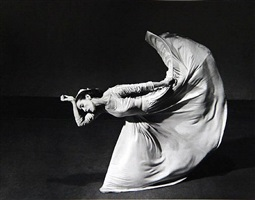 "martha graham,""letter to the world"" (kick) by barbara morgan"