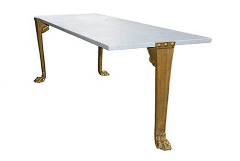 custom low-table by t.h. robsjohn-gibbings