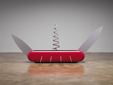 knife ship 1:12 by coosje van bruggen and claes oldenburg