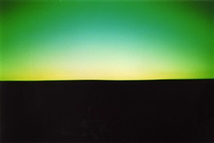 from the series: the color of twilight (kitakatsuragi road) by dieter hiesserer