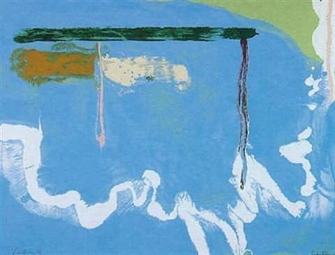 skywriting by helen frankenthaler