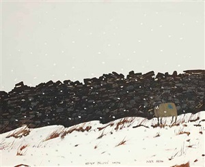 softly falling snow by peter brook
