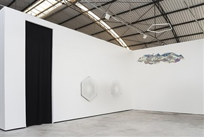 <i>your orbit perspective</i> | exhibition view at galpão fortes vilaça by olafur eliasson