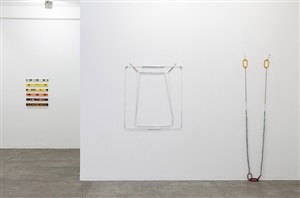 <i>hardware seda - hardware silk</i> | exhibition view at galeria fortes vilaça by jac leirner