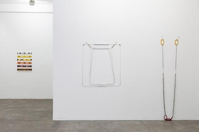 <i>hardware seda - hardware silk</i> | exhibition view at galeria fortes vilaça by jac leirner