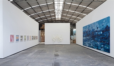 <i>flatland</i> | exhibition view at galpão fortes vilaça by janaina tschäpe