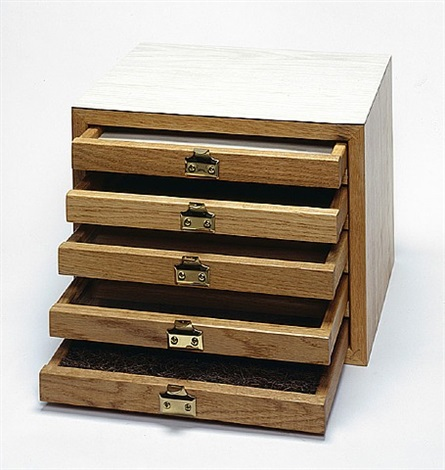 untitled (chest of drawers) by richard artschwager