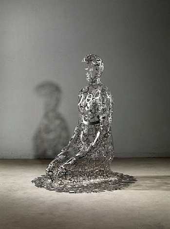 self-portrait as w. faulkner iv by jaume plensa