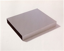 untitled, (schellmann #m-3) by donald judd
