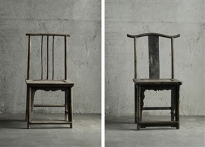 fairytale chairs (d-036 & d-006) by ai weiwei