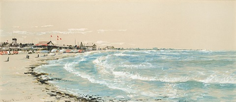 narragansett watercolor by edmund darch lewis