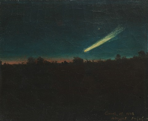 comet of 1882 by alexander helwig wyant