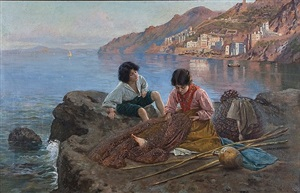 mending the net by francesco ballesio