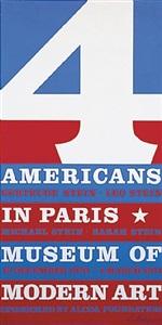plakat 4 american in paris by robert indiana