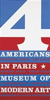 plakat 4 american in paris by robert indiana
