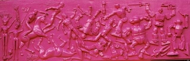 battle of toygeneration (1-4, pink) by aleksandra koneva