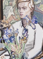 elizabeth peyton: irises and klara, commerce st.