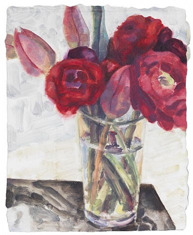 elizabeth peyton: flowers, berlin