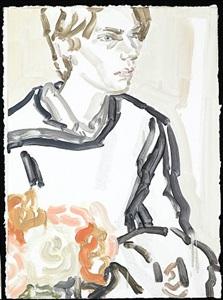 elizabeth peyton: klara, nyc, april, 2011 #2