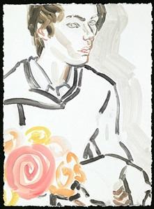elizabeth peyton: klara, nyc, april, 2011 #4
