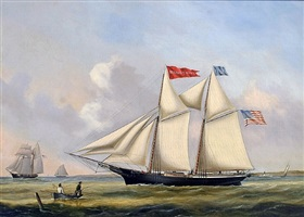 schooner aurelia p.howe by joseph b. smith