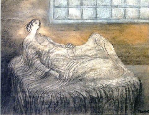 early morning by henry moore