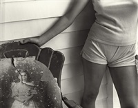 untitled, at twelve (sherry granny) by sally mann